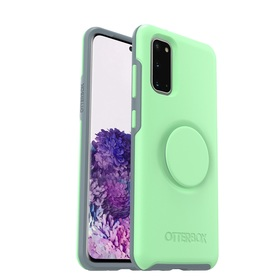 OtterBox Symmetry Pop Etui Ochronne z PopSockets do Samsung Galaxy S20 (Mint to Be)