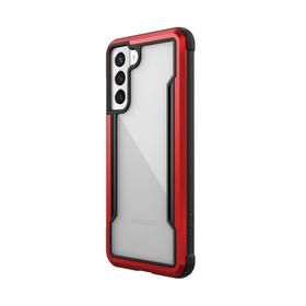 Raptic Shield Etui Aluminiowe do Samsung Galaxy S21 (Antimicrobial Protection) (Red)
