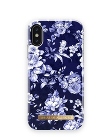 iDeal Of Sweden Fashion Case Etui Obudowa do iPhone Xs / X (Sailor Blue Bloom)