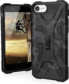 Urban Armor Gear Pathfinder SE Etui Pancerne do iPhone SE (2020) / iPhone 8 / iPhone 7 / iPhone 6S / iPhone 6 (Black)