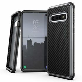 X-Doria Defense Lux Etui Aluminiowe do Samsung Galaxy S10 (Drop Test 3m) (Black Carbon)