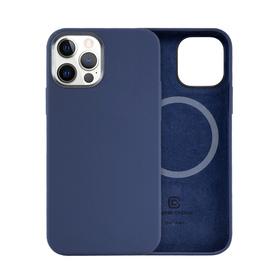Crong Color Cover MagSafe Etui Obudowa do iPhone 12 Pro / iPhone 12 (Navy Blue)