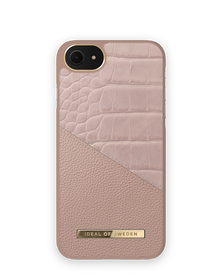 iDeal of Sweden Atelier Etui Obudowa do iPhone SE (2020) / iPhone 8 / iPhone 7 / iPhone 6s / iPhone 6 (Rose Smoke Croco)