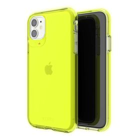 Gear4 Crystal Palace Neon Etui Ochronne do iPhone 11 (Neon Yellow)