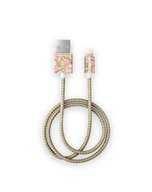 iDeal Of Sweden Cable Kabel USB Lightning MFI 1m (Floral Birds)