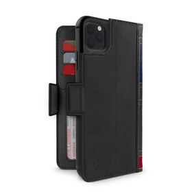 Twelve South BookBook Etui Skórzane z Klapką do iPhone 11 Pro Max (Black)