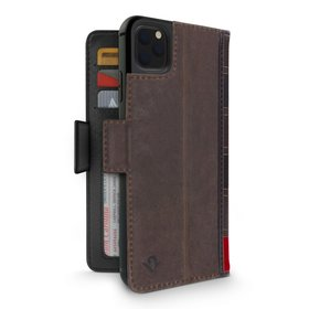 Twelve South BookBook Etui Skórzane z Klapką do iPhone 11 Pro Max (Brown)