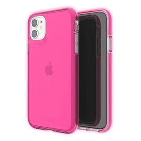 Gear4 Crystal Palace Neon Etui Ochronne do iPhone 11 (Neon Pink)