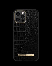 iDeal of Sweden Atelier Etui Obudowa do iPhone 12 Pro Max (Neo Noir Croco)