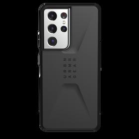 Urban Armor Gear Civilian Etui Pancerne do Samsung Galaxy S21 Ultra (Black)