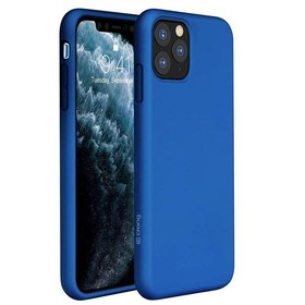 Crong Color Cover Etui Obudowa do iPhone 11 Pro Max (Blue)