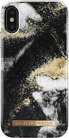 iDeal of Sweden Fashion Case Etui Obudowa do iPhone Xs / iPhone X (Black Galaxy Marble)