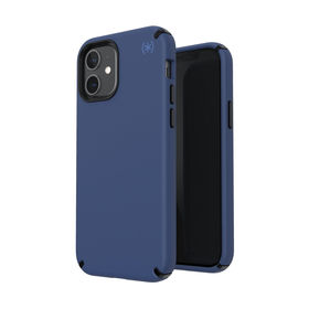 Speck Presidio2 Pro Etui Ochronne do iPhone 12 Pro / iPhone 12 z Powłoką Microban (Coastal Blue/Black/Storm Blue)