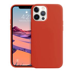 Crong Color Cover Etui Obudowa do iPhone 12 Pro / iPhone 12 (Czerwony)
