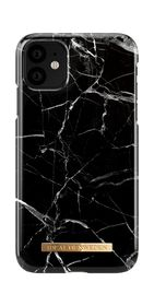 iDeal of Sweden Fashion Case Etui Obudowa do iPhone 11 (Black Marble)