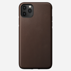 Nomad Rugged Case Skórzane Etui do iPhone 11 Pro Max (Rustic Brown)