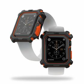 Urban Armor Gear UAG Watch Case Etui Ochronne do Apple Watch 5 (44mm) / Apple Watch 4 (44mm) (Black/Orange)