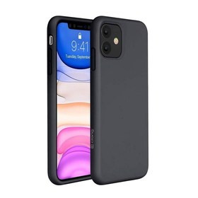 Crong Color Cover Etui Obudowa do iPhone 11 (Black)