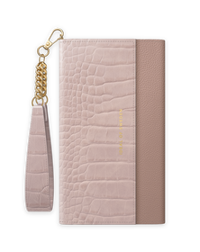 iDeal of Sweden Clutch Etui Portfel do iPhone SE (2020) / iPhone 8 / iPhone 7 / iPhone 6s / iPhone 6 (Misty Rose Croco)