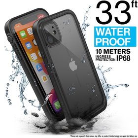 Catalyst Waterproof Case Etui Wodoszczelne (IP-68 do 10 m głębokości) do iPhone 11 (Stealth Black)