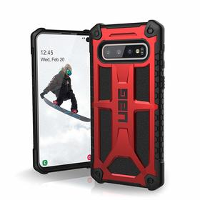 Urban Armor Gear Monarch Etui Pancerne do Samsung Galaxy S10 (Crimson)
