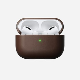 Nomad Leather Case Etui Obudowa do AirPods Pro (Rustic Brown)