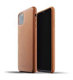 Mujjo Full Leather Case Etui Skórzane do iPhone 11 Pro Max (Tan)