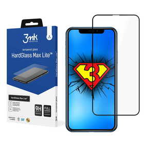 (EOL) 3mk HardGlass Max Lite Szkło Harowane na Cały Ekran do iPhone 11 Pro