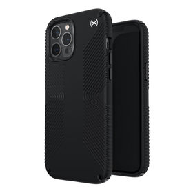 Speck Presidio2 Grip Etui Ochronne do iPhone 12 Pro Max z Powłoką Microban (Black/Black/White)