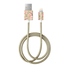 iDeal of Sweden Cable Kabel USB ze Złączem Lightning MFI 1m (Floral Birds)
