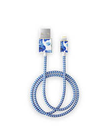 iDeal Of Sweden Cable Kabel USB Lightning MFI 1m (Baby Blue Orchids)