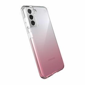 Speck Presidio Perfect-Clear Ombre Etui Ochronne do Samsung Galaxy S21 z Powłoką Microban (Clear/Vintage Rose)