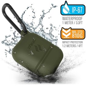 Catalyst Waterproof Case Wodoszczelne Etui do Apple AirPods 1 / AirPods 2 (Army Green)