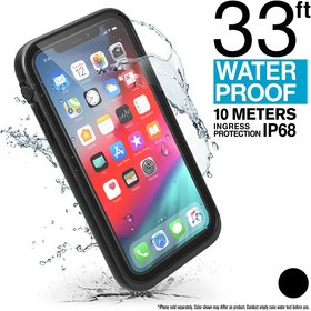 Catalyst Waterproof Case Etui Wodoszczelne (IP-68 do 10 m głębokości) do iPhone Xr (Stealth Black)