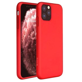 Crong Color Cover Etui Obudowa do iPhone 11 Pro (Red)