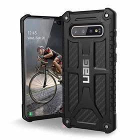 Urban Armor Gear Monarch Etui Pancerne do Samsung Galaxy S10+ Plus (Carbon Fiber)