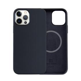Crong Color Cover MagSafe Etui Obudowa do iPhone 12 Pro Max (Black)