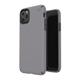 (EOL) Speck Presidio Pro Etui Ochronne do iPhone 11 Pro Max z Powłoką Microban (Fliligree Grey/Slate Grey)