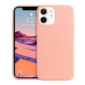 Crong Color Cover Etui Obudowa do iPhone 12 Mini (Rose Pink)