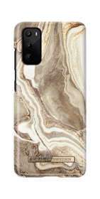 iDeal of Sweden Fashion Case Etui Obudowa do Samsung Galaxy S20 (Golden Sand Marble)