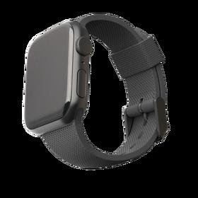 Urban Armor Gear [U] Dot Silikonowy Pasek do Apple Watch (44 mm) / Apple Watch (42 mm) (Black)