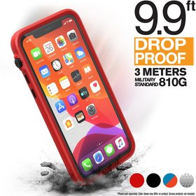 Catalyst Impact Protection Case Etui Pancerne + Smyczka do iPhone 11 Pro (Flame Red)