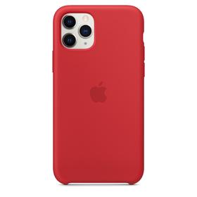 Apple Silicone Case Oryginalne Silikonowe Etui do iPhone 11 Pro (Czerwony) (Product) Red