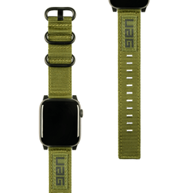 Urban Armor Gear UAG Nato Strap Materiałowy Pasek do Apple Watch 44 mm / 42 mm (Olive Drab)