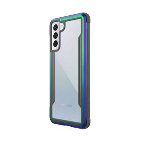 Raptic Shield Etui Aluminiowe do Samsung Galaxy S21+ (Antimicrobial Protection) (Iridescent)