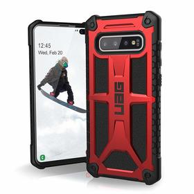 Urban Armor Gear Monarch Etui Pancerne do Samsung Galaxy S10+ Plus (Crimson)