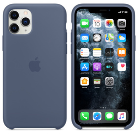 Apple Silicone Case Oryginalne Silikonowe Etui do iPhone 11 Pro (Nordycki Błękit)