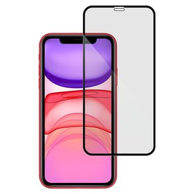 Mr. Monkey Glass 5D Strong HD Szkło Hartowane 9H Na Cały Ekran do iPhone 11 / iPhone Xr (Czarna Ramka)
