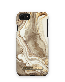 iDeal of Sweden Fashion Etui Obudowa do iPhone SE (2020) / iPhone iPhone 8 / iPhone 7 (Golden Sand Marble)