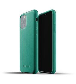 Mujjo Full Leather Case Etui Skórzane do iPhone 11 Pro (Alpine Green)